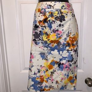 NWT- Floral Pencil Skirt